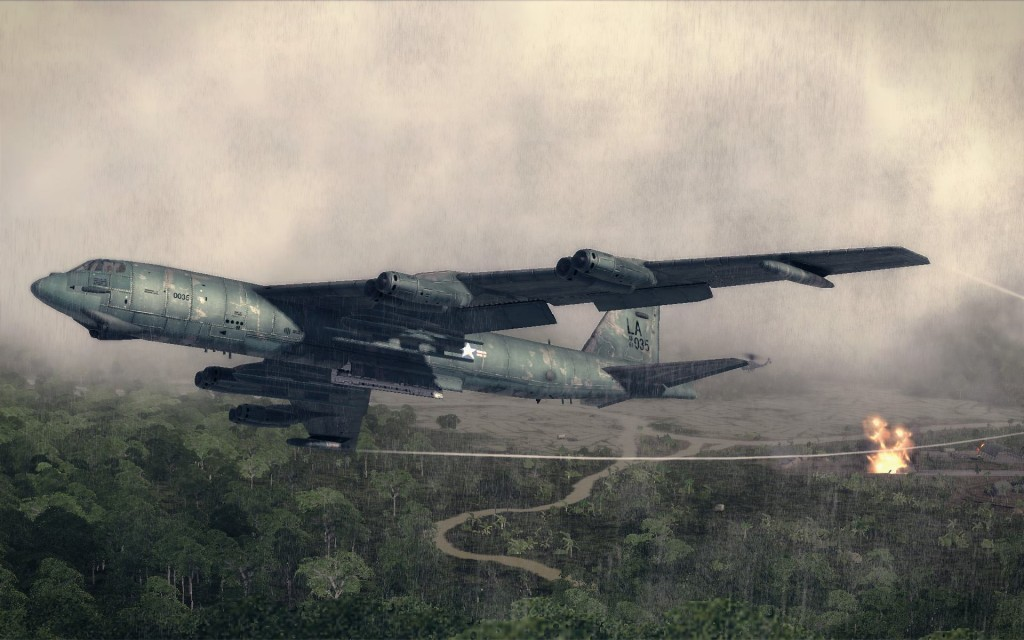 Air-Conflicts-Vietnam-Ultimate-Edition-Plane-Rain