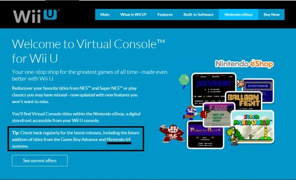 wii u virtual console n64