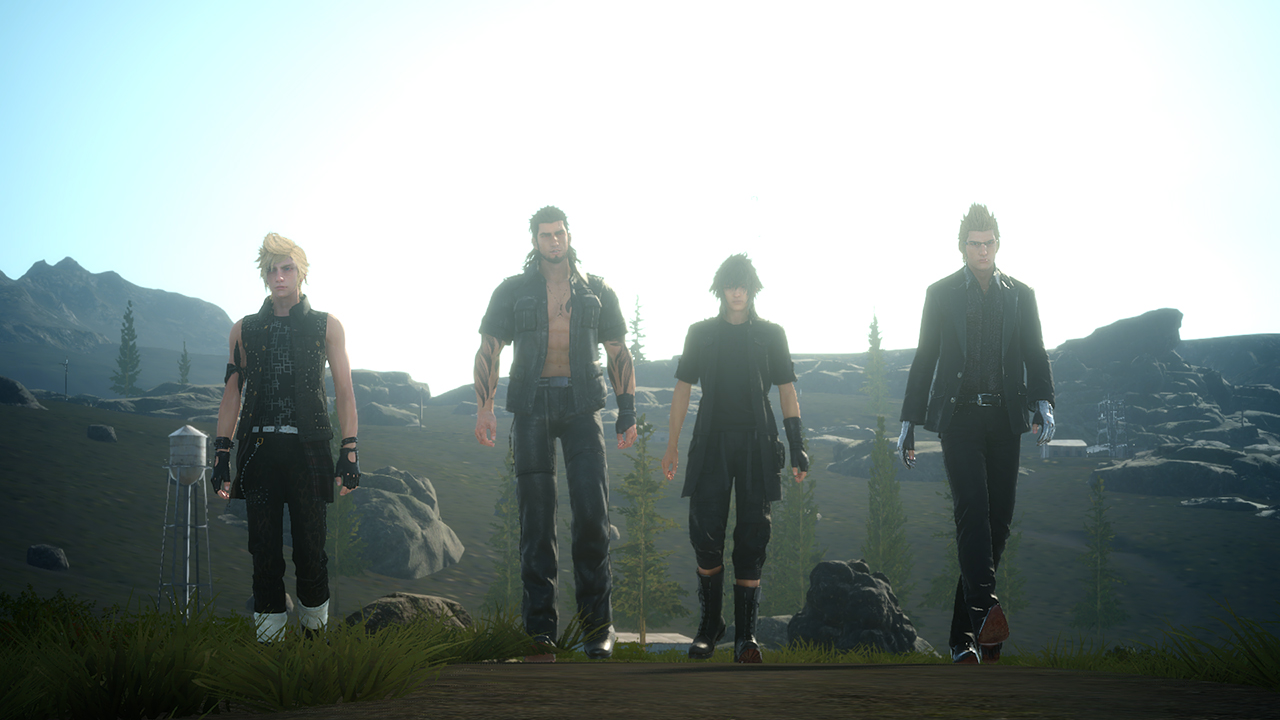 ffxv_party_walking